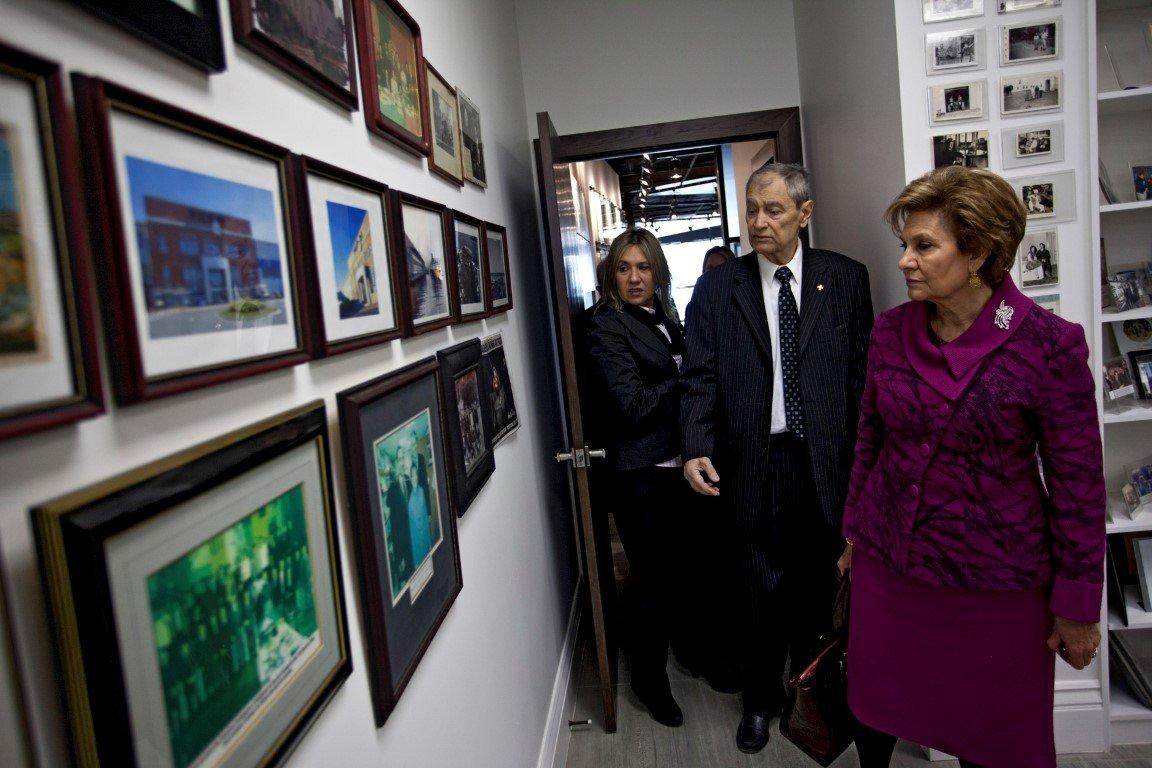 Maria Cavaco Silva Visits the Gallery - 04