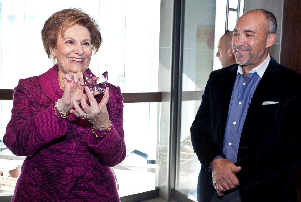 Maria Cavaco Silva Visits the Gallery - 09