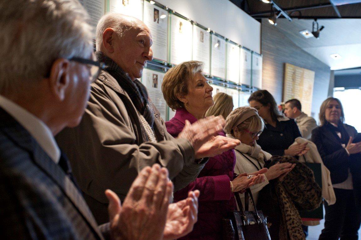 Maria Cavaco Silva Visits the Gallery - 14