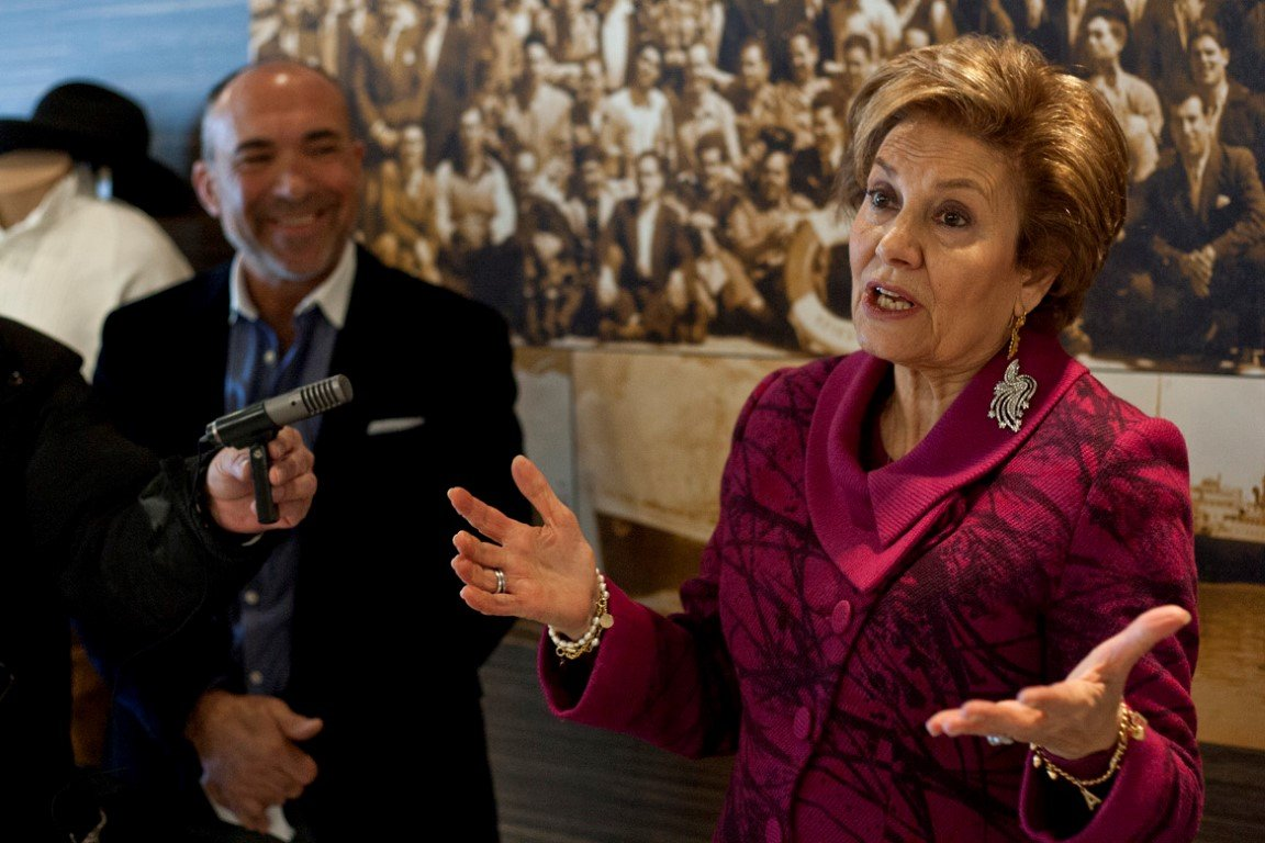Maria Cavaco Silva Visits the Gallery - 16