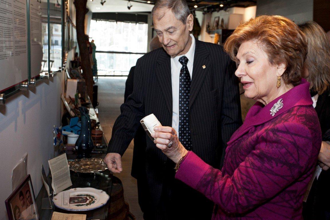 Maria Cavaco Silva Visits the Gallery - 19