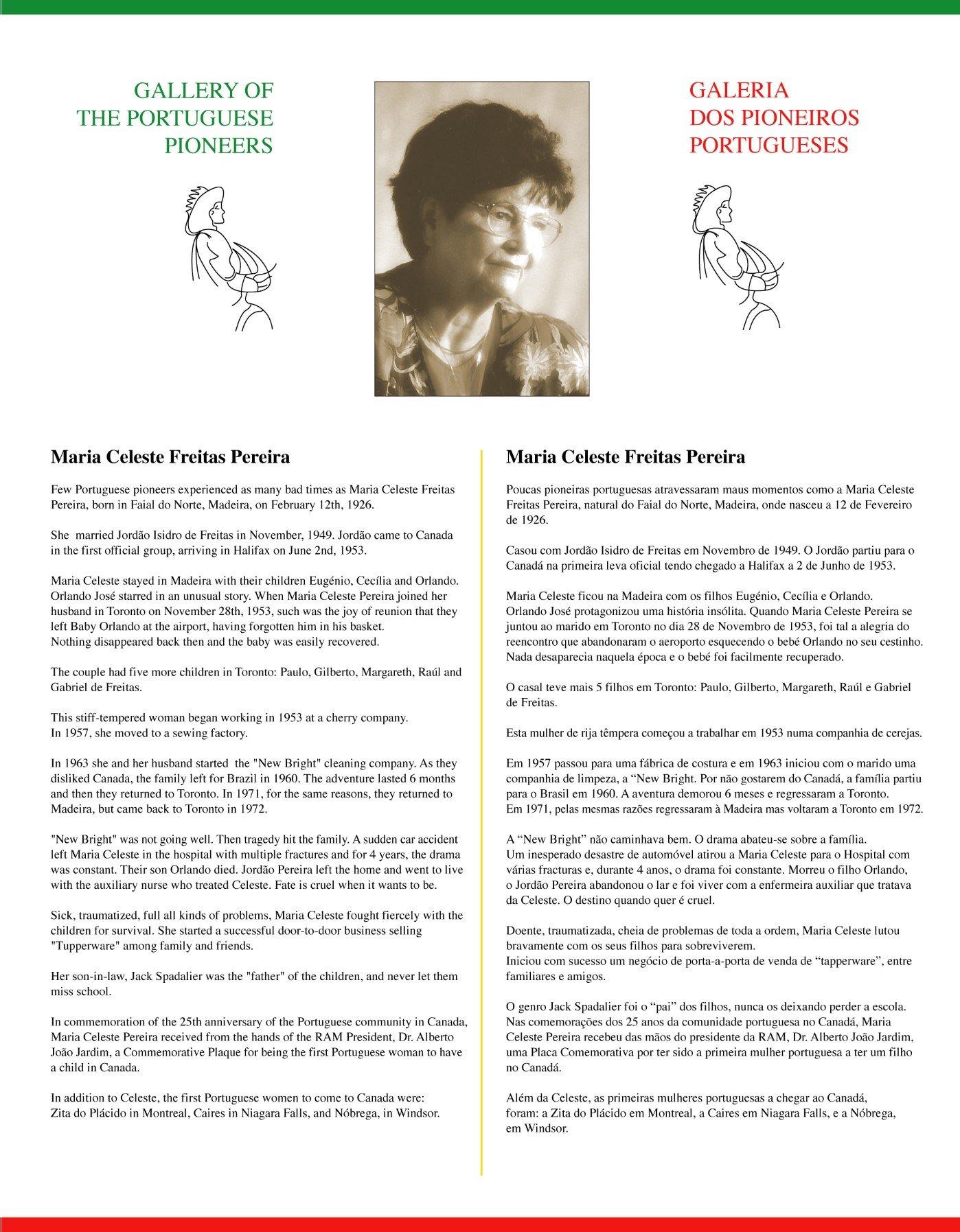 Maria Celeste Freitas Pereira