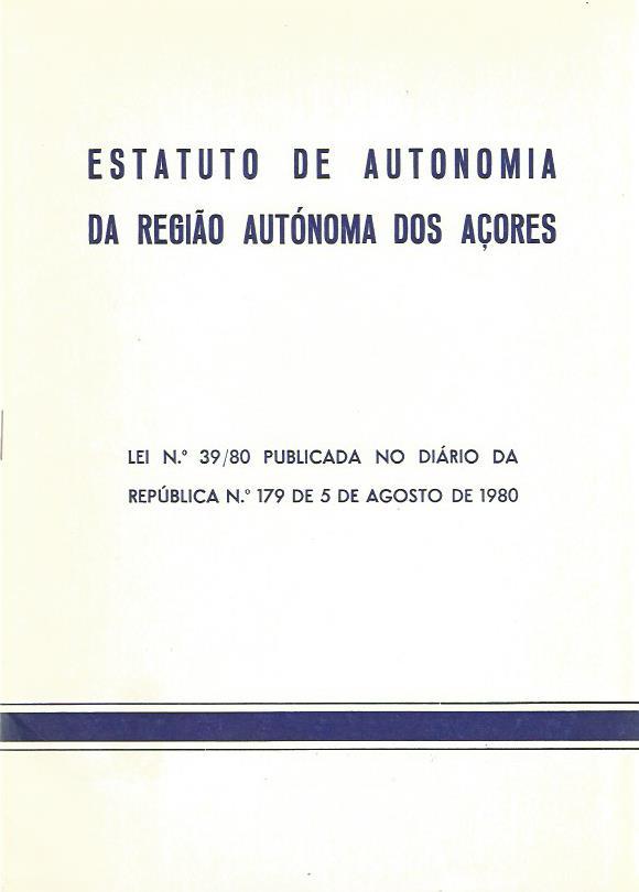 Estatuto de Autonomia da Região Autónoma dos Açores