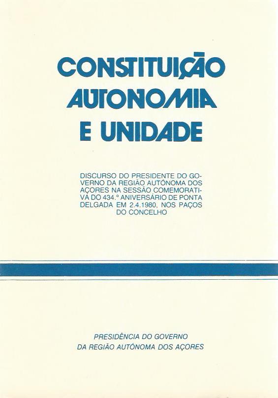 Constituição Autonomia e Unidade
