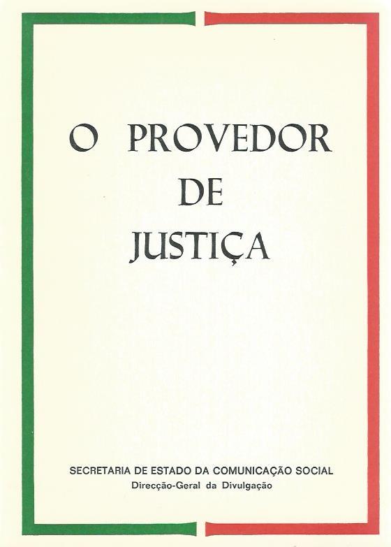 O Provedor de Justiça