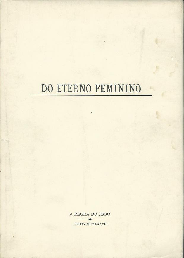 Do Eterno Feminino