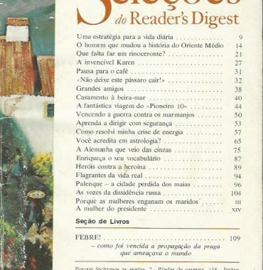 Seleções do Reader's Digest