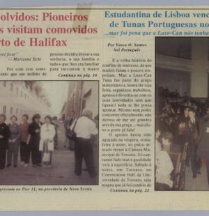 46 Anos Volvidos Pioneiros Portugueses Visitam Comovidos o Porto de Halifax