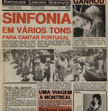 A VOZ: Sinfonia em Varios Tons Para Cantar Portugal 1993/06/14