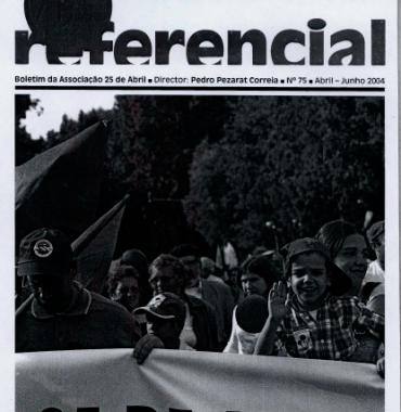 Boletim da Associação 25 de Abril 2004/Apr-Jun