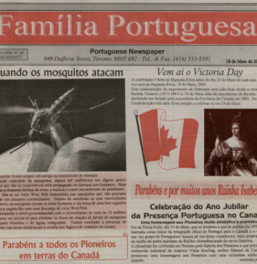 FAMILIA PORTUGUESA: 2003/05/18 Issue 28