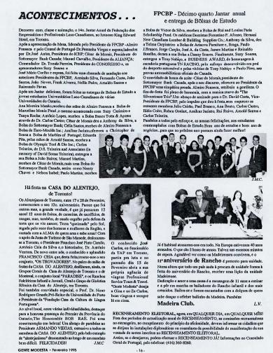GENTE MODESTA: Acontecimentos 1995/02