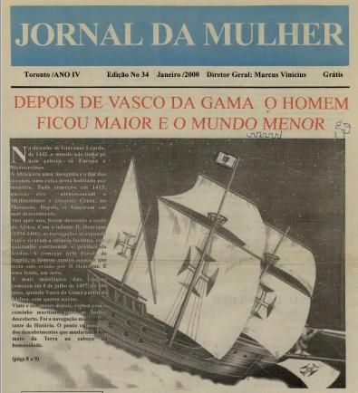 JORNAL DA MULHER: Jan 2000 Issue 34