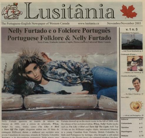 LUSITANIA: Nov 2003 Issue 5