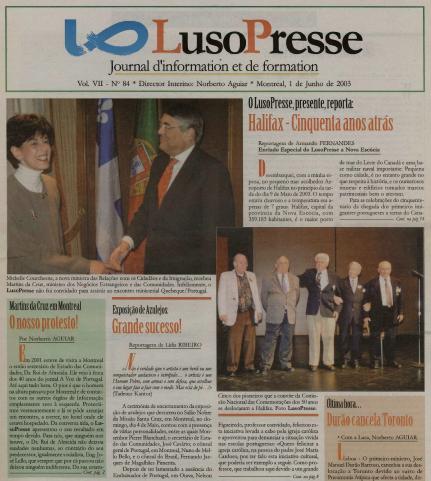 LUSOPRESSE: Jun 2003 Issue 84