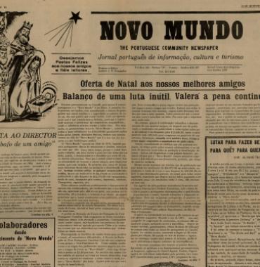 NOVO MUNDO: 1973/12/15 Issue 81