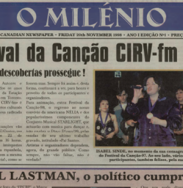 O MILENIO: 1998/11/20 Issue 1