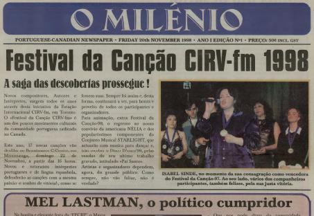 O MILENIO: 1998/11/20 Issue 1