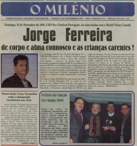 O MILENIO: 1998/11/27 Issue 2