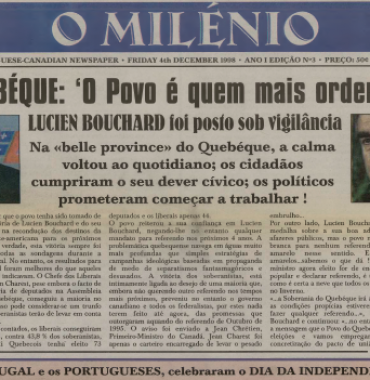 O MILENIO: 1998/12/04 Issue 3