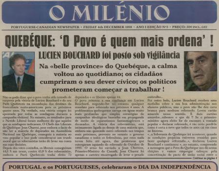 O MILENIO: 1998/12/04 Issue 3