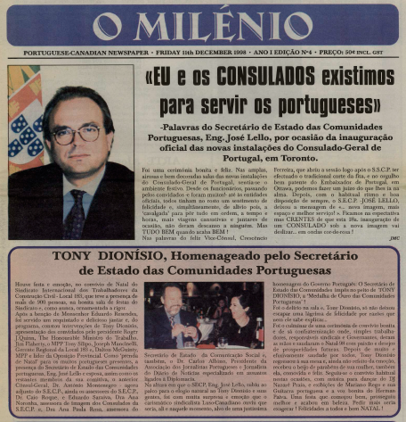 O MILENIO: 1998/12/11 Issue 4