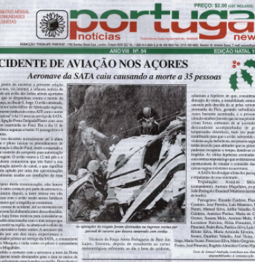 PORTUGAL NEWS: Christmas 1999 Issue 94
