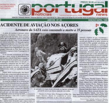 PORTUGAL NEWS: Christmas 1999 Issue 94