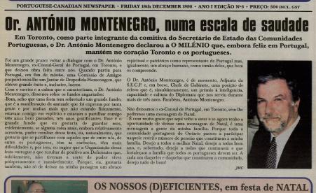O MILENIO: 1998/12/18 Issue 5