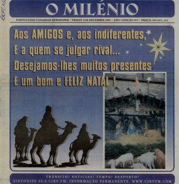 O MILENIO: 1998/12/25 Issue 6