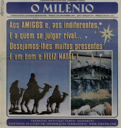 O MILENIO: 1998/12/25 Issue 6