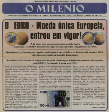 O MILENIO: 1999/01/08 Issue 8