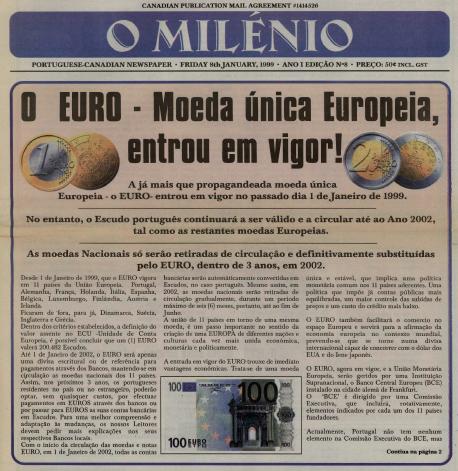 O MILENIO: 1999/01/08 Issue 8