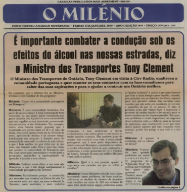 O MILENIO: 1999/01/15 Issue 9