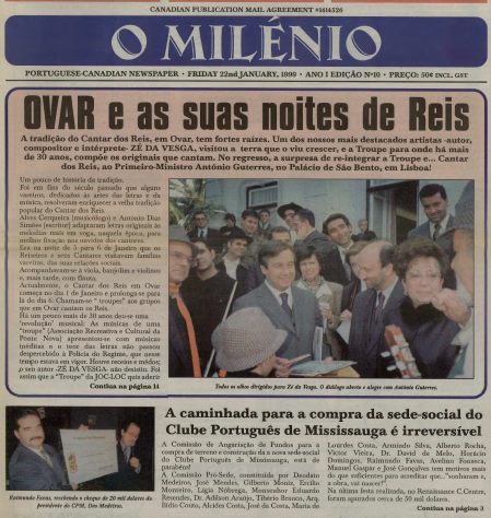 O MILENIO: 1999/01/22 Issue 10