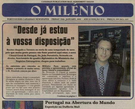 O MILENIO: 1999/01/29 Issue 11