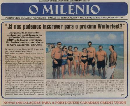 O MILENIO: 1999/02/05 Issue 12