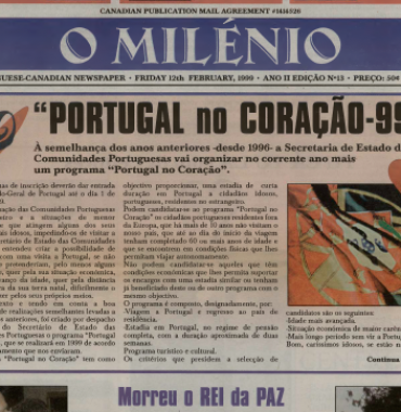 O MILENIO: 1999/02/12 Issue 13
