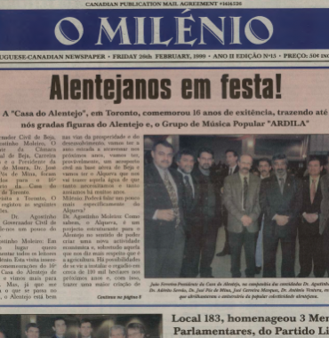O MILENIO: 1999/02/26 Issue 15