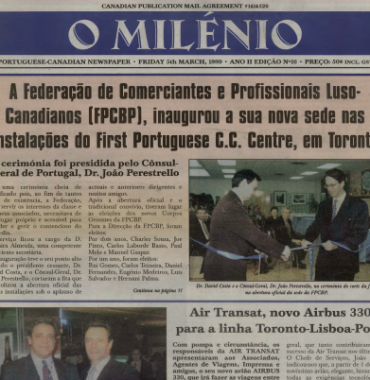 O MILENIO: 1999/03/05 Issue 16