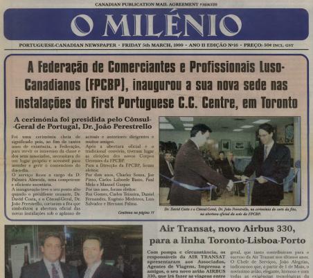 O MILENIO: 1999/03/05 Issue 16