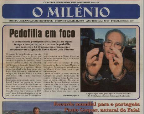 O MILENIO: 1999/03/19 Issue 18