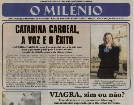 O MILENIO: 1999/03/26 Issue 19