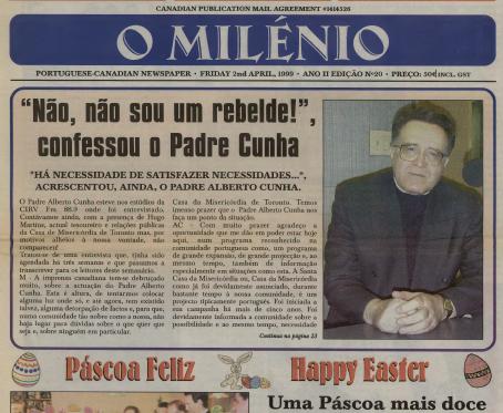 O MILENIO: 1999/04/02 Issue 20