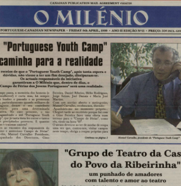 O MILENIO: 1999/04/09 Issue 21