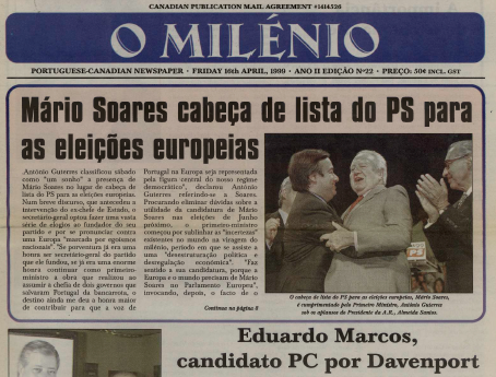 O MILENIO: 1999/04/16 Issue 22