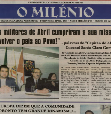 O MILENIO: 1999/04/23 Issue 23