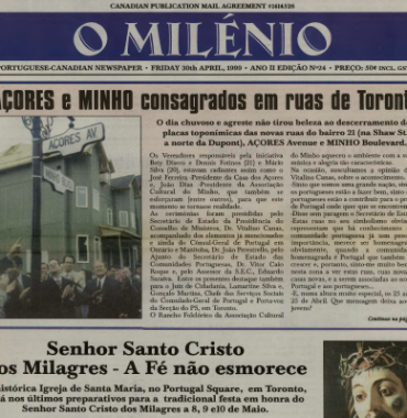 O MILENIO: 1999/04/30 Issue 24