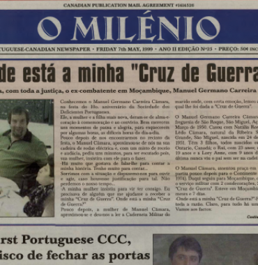 O MILENIO: 1999/05/07 Issue 25