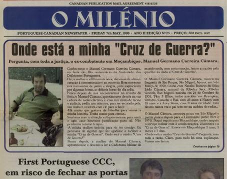 O MILENIO: 1999/05/07 Issue 25